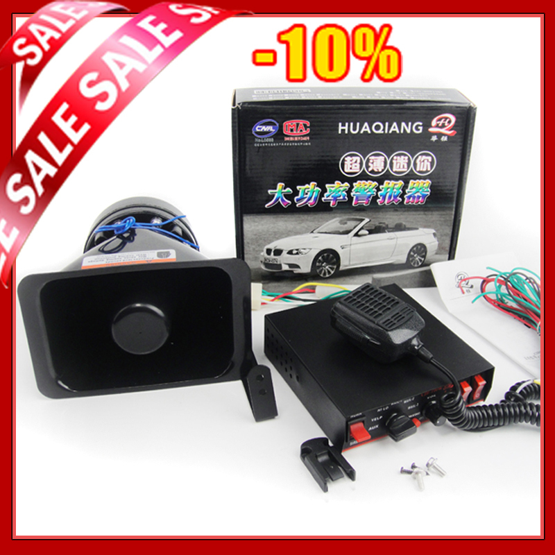 car siren 11tone car peaker alarm 100 w electronic siren police motorcycle police siren car. Black Bedroom Furniture Sets. Home Design Ideas