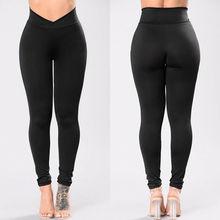 New Womens High Waist Elastic Yoga Pants Leggings Fitness Workout Running Sports Pants Trousers Casual Womens Long Leggings