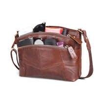 1c7885237297 Cobbler Legend Мульти Карманы винтажная сумка из натуральной кожи женские  маленькие женские сумочки сумки для женщин