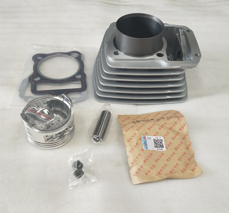 Engine Spare Parts 67mm Motorcycle Cylinder Kit Pin For Honda Zongshen CG250 CG 250 ATV Air-cooled motorcycle cylinder kit 67mm bore for shineray cg250 cg 250 250cc air water double cooled engine spare parts