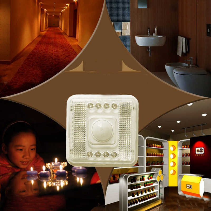 8LEDS Infrared IR Motion Sensor Automation Delay Time LED Wall Lights Night Light For Cabinet Darkroom Hotel