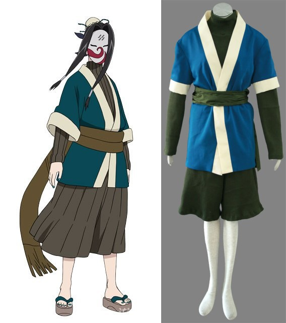 NARUTO Haku Cosplay Halloween Costumes