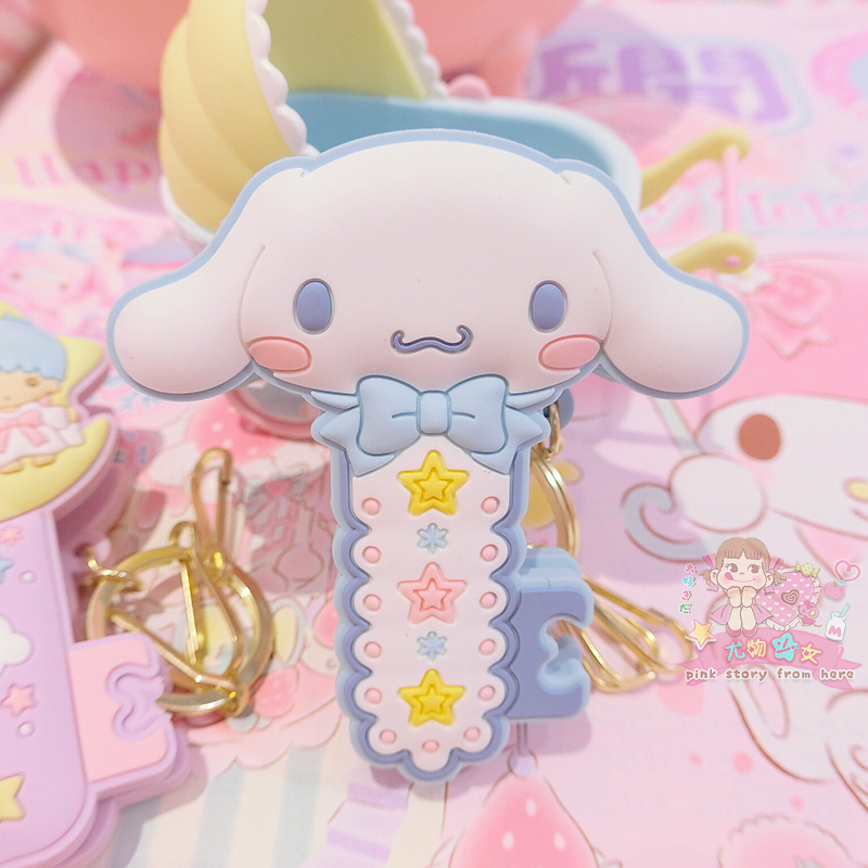 1 Pc Cute Cartoon Cinnamoroll my Melody Little Twin Stars Pudding Dog Comics Hair Pin Hair Clip for Girls Gift Toy Figure-3