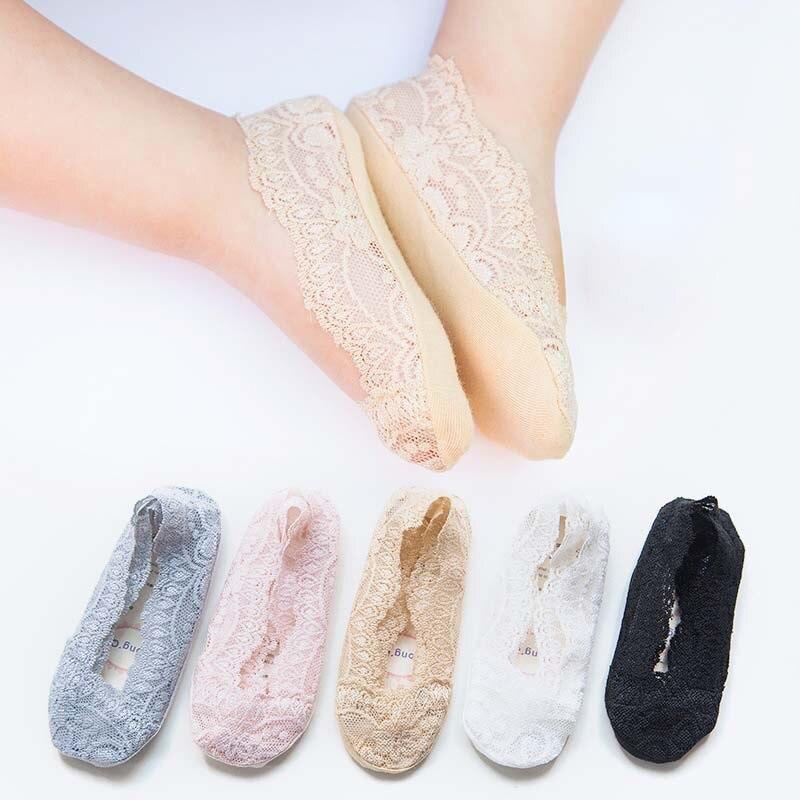 Cheap Stuff Childrens Socks Summer Cotton Lace Princess Baby Girl Ship Socks Thin Silicone Anti-skid Girl Socks