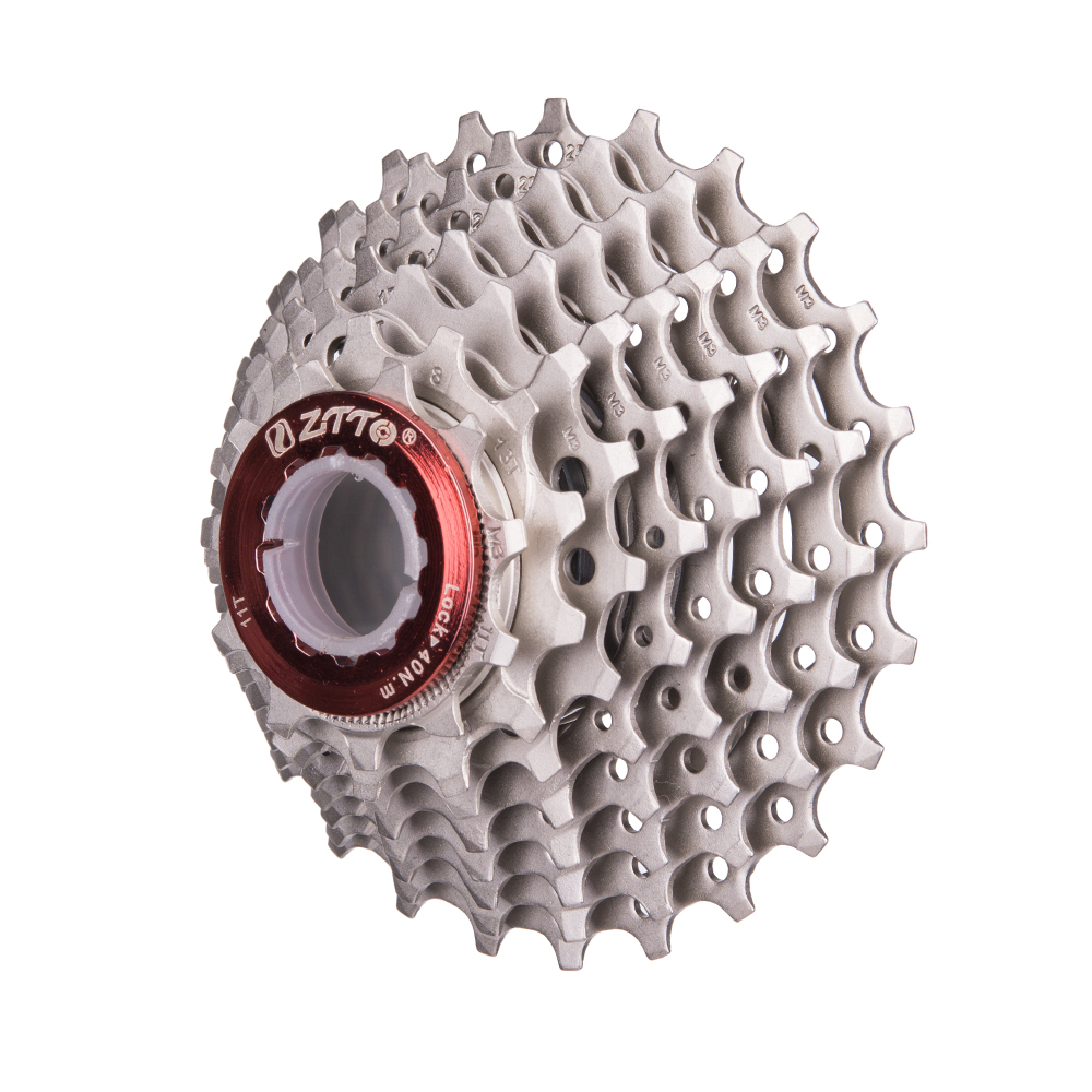 Road Bike Bicycle Parts 8s 16s 24s <font><b>Speed</b></font> Freewheel <font><b>Cassette</b></font> Sprocket <font><b>11</b></font>-25T Compatible for shimano 2400 2300 Claris image