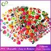 5 feuilles 3D bulle autocollants dessin animé Fruits Vagetable imperméable autocollants jouets éducatifs pour enfants enfants garçon fille cadeau GYH