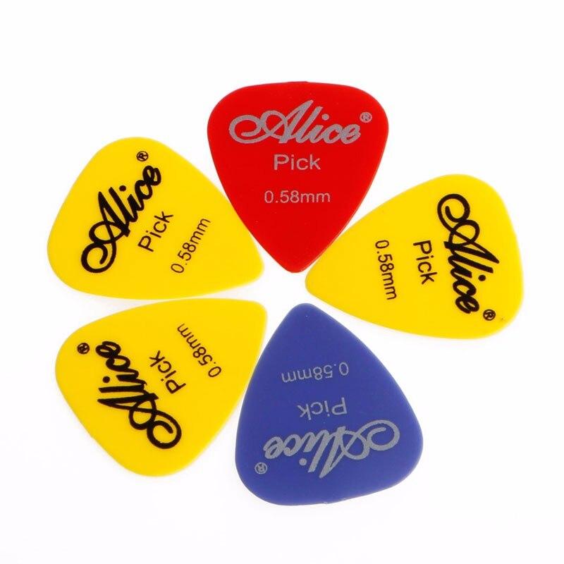 5 шт гитара выбирает плектрум НЗЭИ электроакустической Бас-цвета в ассортименте
