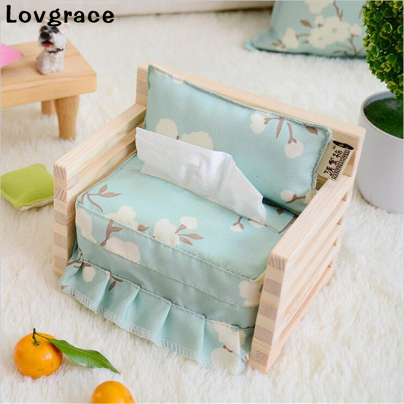 2018 New Wood Tissue Box Bedroom Dressers Night Stands Desks And Tables Napkin Paper Container Case Wedding Supplies Gift
