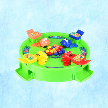 1pcs Hungry Frogs Game Frogs Eating Balls Emulational Funny Play Toy Set Table Game Board Games for Children Toddler Kids