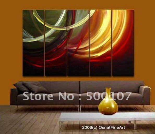 Oil paintings are 100% hand-made.Original Oil Painting>Framed Modern Abstract Art Tree Home/Living Room/Bed Room Decorative Pain