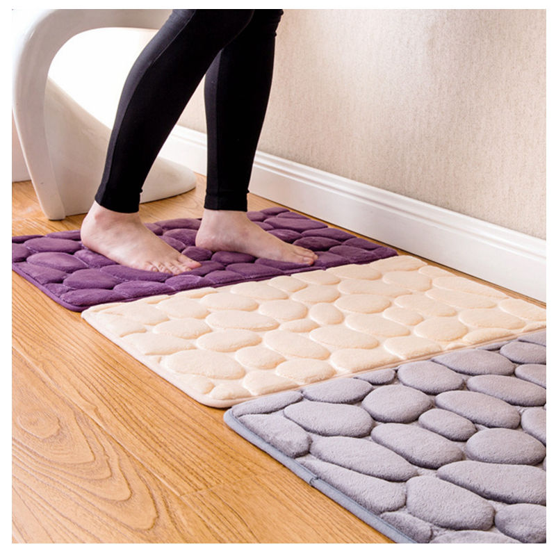 water absorption rug bathroom mat shaggy memory foam bath mat set kitchen door floor mat carpet. Black Bedroom Furniture Sets. Home Design Ideas