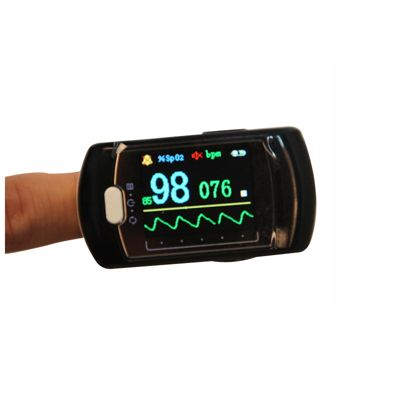 ФОТО Wholesales with CE FDA approved Rechargeable Digital Finger oximeter OLED pulse oximeter display pulsioximetro SPO2 PR