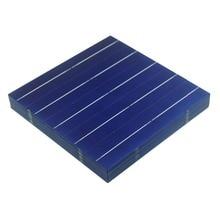 100 adet 4.5W 156MM fotovoltaik polikristal güneş pilleri 6x6 DIY güneş paneli sistemi