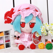 Фотография Anime Toy Touhou Project REMILIA SCARLET Doll COS Cosplay Plush Cute Props Soft Stuffed Animal Gift Movie TV