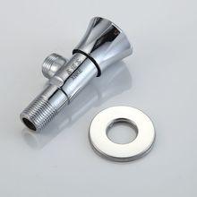 Nanan сантехника аппаратных аксессуаров высокий стандарт покрытие горячей и холодной анти-крекинга треугольный клапан завод прямые