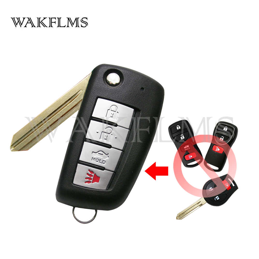 Detail Feedback Questions About New Flip Smart Car Key Keyless Entry Remote Control Fob Replacement For Kbrastu15 4 Button Modified 315mhz Nissan With 46 Chip Cwtwbiu751
