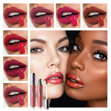 Pudaier 12 Colors Lipgloss Sexy Liquid Lip Glaze Long Lasting Waterpro