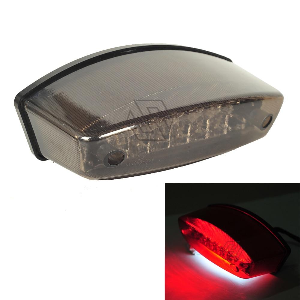 Smoke Black Motorcycle LED Brake Light Case For DUCATI MONSTER M400 M750 M900 M1000 S4R