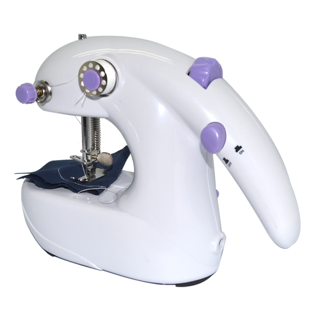 Portable 40 In 40 Batteries Operated Mini Handheld Sewing Machines Classy Battery Operated Sewing Machine