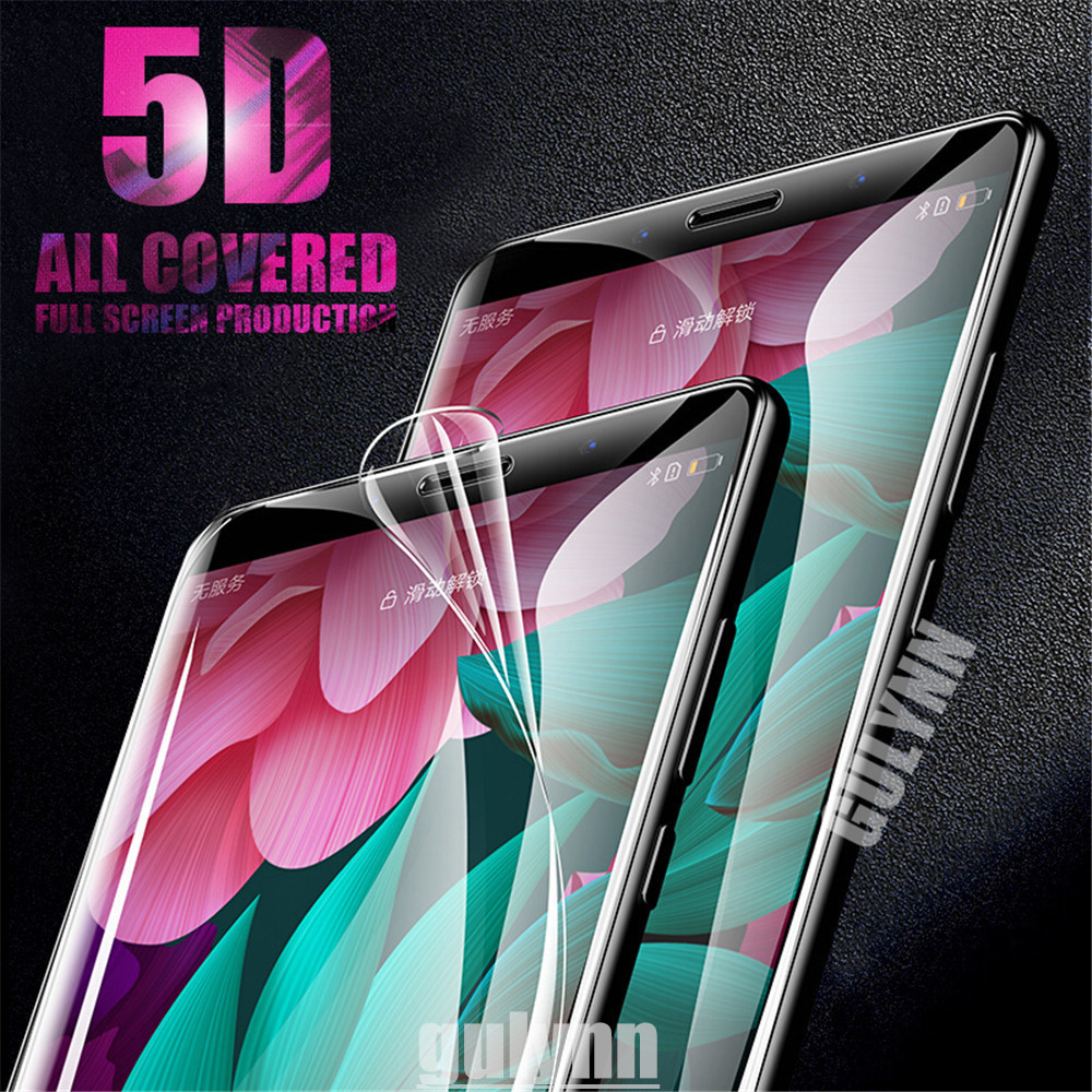 <font><b>5D</b></font> Soft Full Cover Hydrogel Film For <font><b>Huawei</b></font> <font><b>Honor</b></font> <font><b>9</b></font> 10 V10 Lite Screen Protector For <font><b>Huawei</b></font> P20 Mate 10 Lite Pro Film Not <font><b>Glass</b></font> image