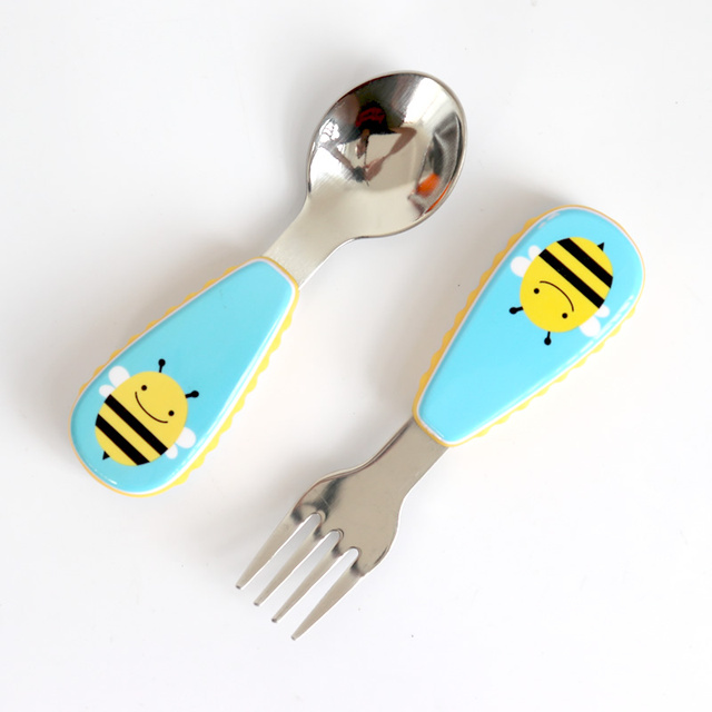 Adorable Animal Cartoon Design Eating Set