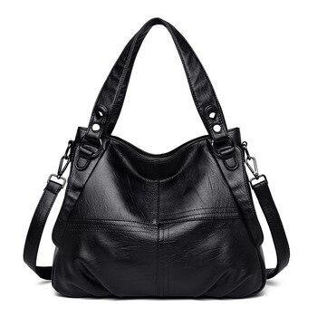 2019 Genuine Leather Women Handbag High Quality Fashion Designer Large Tote Bags for Women Shoulder Bag Luxury Ladies Hand Bags цена 2017