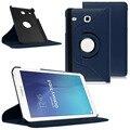 Новый Вращающийся личи Кожаный Чехол Для Samsung Galaxy Tab E 8.0 Case PU Кожаный Чехол для Samsung t377v T377 Case + стилус бесплатно