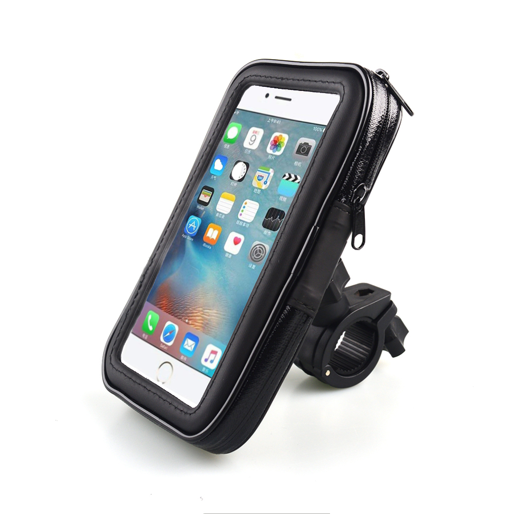 Bicycle Motorcycle Phone Holder Waterproof Bike Phone <font><b>Case</b></font> Bag <font><b>for</b></font> <font><b>iPhone</b></font> Xs Xr X <font><b>8</b></font> 7 Samsung S9 S8 S7 Scooter Phone <font><b>Case</b></font> image