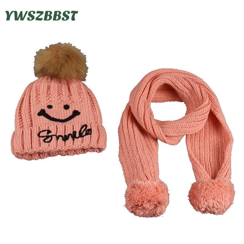 ⑤Invierno bufanda del sombrero del bebé del ganchillo CAPS con ...