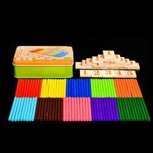 Անվճար առաքում Երեխաները հաշվում են բար / ձողեր թվաբանություն / երեխաները սովորում են մաթեմատիկայի ուսուցման գործիքներ Երեխայի մանկական խաղալիքները մնում են թվերի խաղալիքին