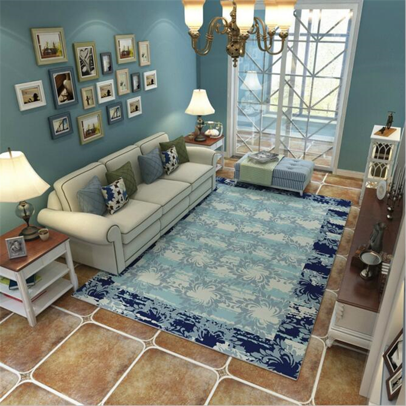 Lovely New Pastoral Style Modern Soft Carpet For Living Room Bedroom Kid Play Delicate Rug Home Floor Fashion Study Room Mat