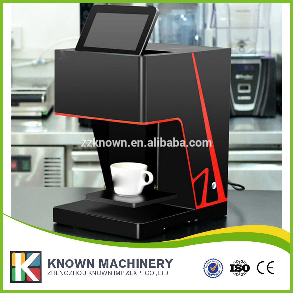 Best quality 3D Inkjet Color printing machine coffee printer and tea cake art printer Automatic printer machine flsun 3d printer big pulley kossel 3d printer with one roll filament sd card fast shipping