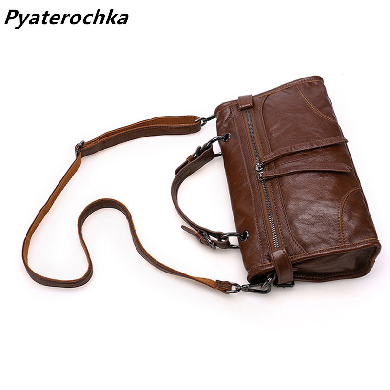 40a2f23983e8 Pyaterochka Luxury Handbags Women Bags Designer 2018 Fashion Casual  Shoulder Bag Genuine Leather High Quality Cheap Bao Bao Bag