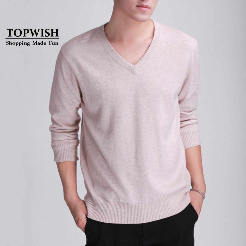2019 New Arrival Men Fashion Cashmere Blend Pullovers Basic Hot Sale Cashmere Blend Sweaters Factory Wholesale OEM TFP939