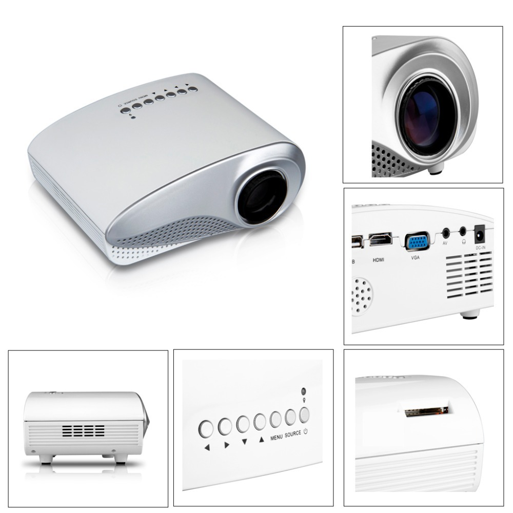 Portable short throw smart home theater mini4k led video for Portable video projector