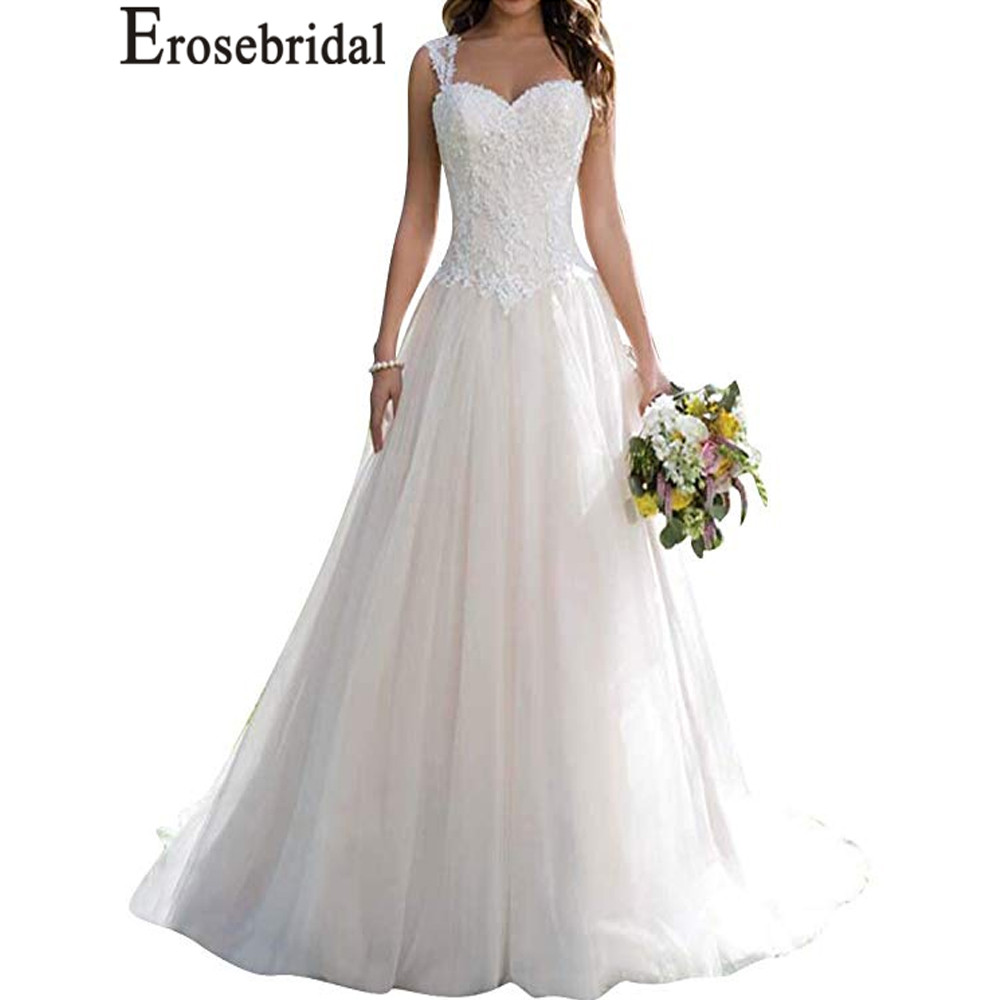 Backless Wedding Gowns For Sale: Erosebridal New Arrival Cheap Wedding Dresses 2019