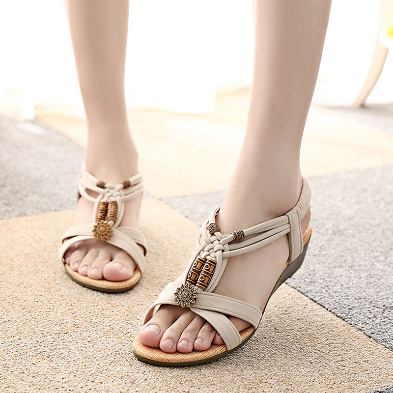 Shoes Women Sandals sneakers Sandals Summer Women's footwear 2018 Fashion Women Flat Sandals Gladiator shoes цена и фото