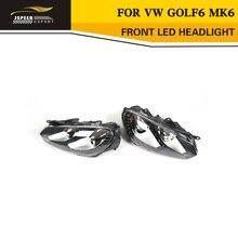 LHD левый привод PP Передняя светодиодная подсветка Солнечный свет фар автомобиля лампы для VW Golf6 mk6 2010-2013