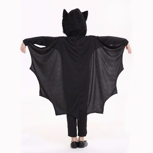 2017 Kids Girls Bat Costumes Cospla yParty Carnival Halloween Costumes for Child Black Bat Onesies Connect Wings Batman Clothes