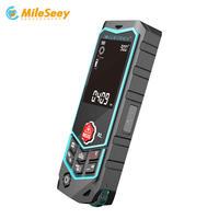 MiLESEEY R2B Laser range finder High accuracy range measuring Laser Tape Range Finder ruler