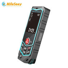 MiLESEEY R2B Laser range finder High-accuracy range measuring Laser Tape Range Finder ruler цена в Москве и Питере