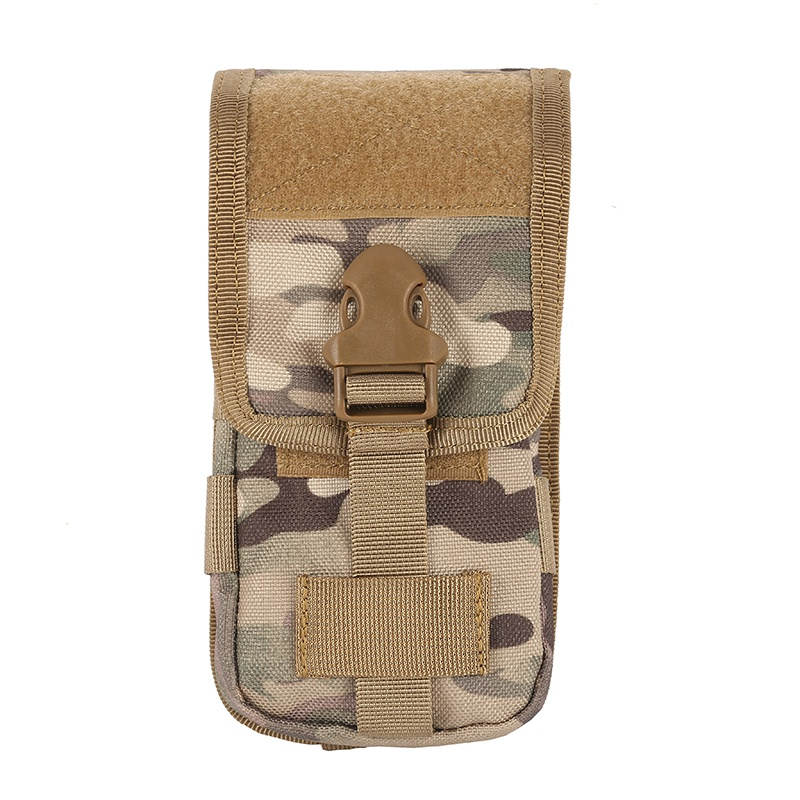 Newest High Quality 600D Tratical Case Cover Mobile Phone Coque Military Tactical Camo Belt Pouch Bag