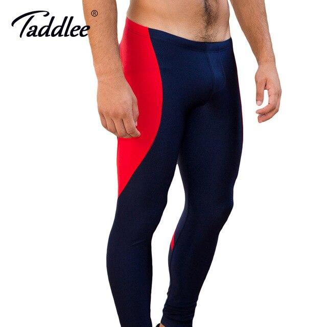 comment chercher réel classé profiter de la livraison gratuite € 22.52 |Taddlee Marque Sexy Legging Hommes Taille Basse Spandex Longues  Sport Pantalon Homme Collants de Course Stretch Bas Gay Entraînement Actif  ...