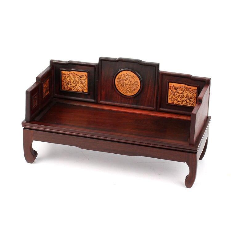 Rouge acerbique bois acajou meubles modèle rouge palissandre miniature meubles a miniature meubles en bois ornements arhat lit