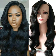 SimBeauty Glueless Body Wave U Part Wigs 100% Human Hair 100
