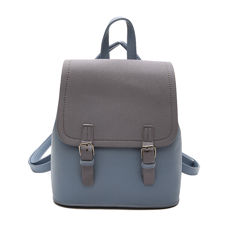 Mochila Feminina Pu For Limited Zipper No Vertical Section 2018 New Old Shoulders Retro Wild Female Bag Korean Mini Backpack