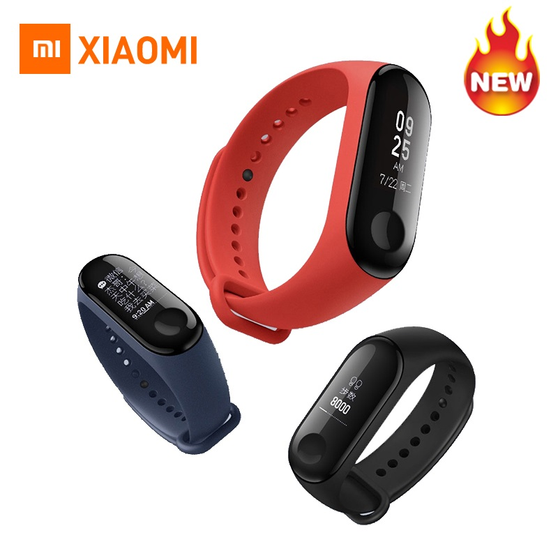 IN STOCK ! Original Xiaomi Mi Band 3 miband 3 Smartband OLED display touchpad heart rate monitor Bluetooth Wristbands bracelet in stock original xiaomi mi band 3 miband 3 smartband oled display touchpad heart rate monitor wristbands bracelet xiaomi mi 8
