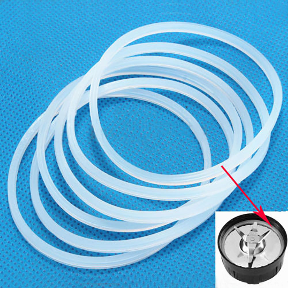 1Pc High Quality Replacement Part Gasket Rubber Seal Ring For Magic Bullet Blade 250W Gaskets Seal Rings For Magic Bullet Only oem quality entire full rubber seal gaskets kit for gasoline or diesel engine powered 3 inch in water pump set