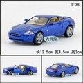 Candice guo 1:38 Kinsmart aleación mini modelo de coche de carreras clásico Jaguar XK coupe motor de recogida de juguetes de navidad regalo de cumpleaños 1 unid