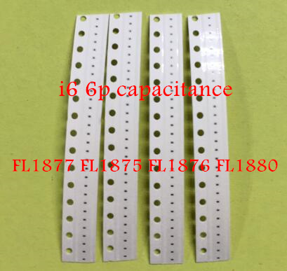 10pcs/lot FL1877 FL1875 FL1876 FL1880 120-OHM-210MA <font><b>01005</b></font> capacitance for iphone 6 6plus motherboard fix part image